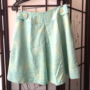 A line fully lines blue skirt - size 6
